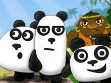 دببة الباندا الثلاثة 2