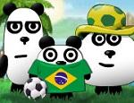 دببة الباندا في البرازيل